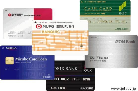銀行カードローン一覧の画像